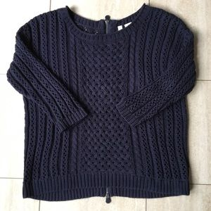 FINAL SALE Navy Anthropologie sweater